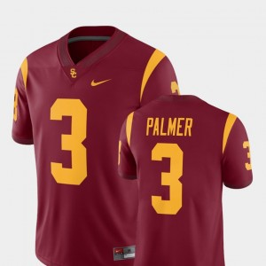 Mens Football #3 Alumni Player USC Carson Palmer college Jersey - Cardinal