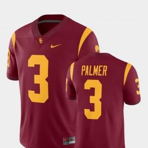 Mens Football USC Trojans #3 Alumni Player Carson Palmer college Jersey - Cardinal