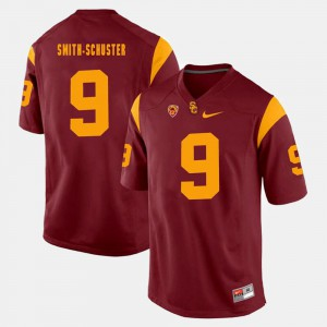 Men's Pac-12 Game #9 Trojans JuJu Smith-Schuster college Jersey - Red