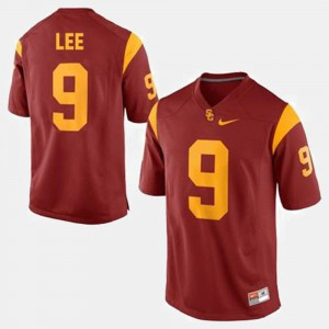 Men's #9 Football Trojans Marqise Lee college Jersey - Red